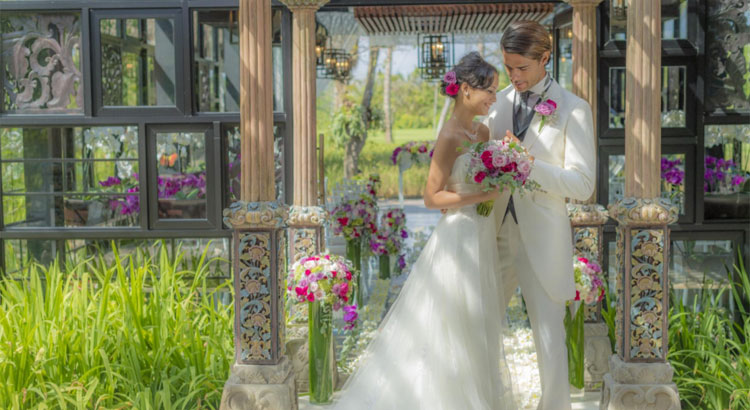 Ayana Resort Bali Orchid Wedding Package