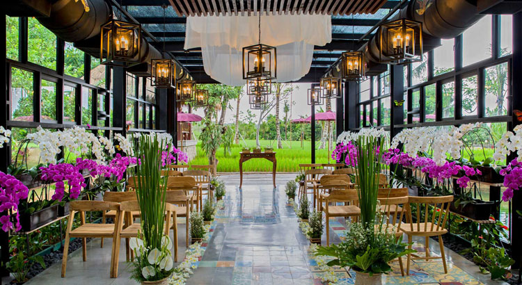 ayana resort bali orchid wedding venue