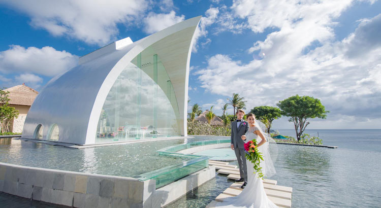 ayana resort tresna chapel wedding bali