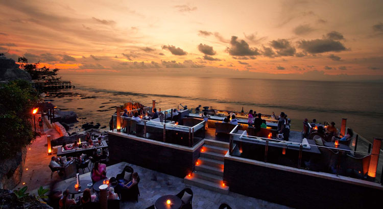 ayana resort rock bar bali wedding venue