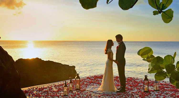 ayana resort rock bar bali wedding venue