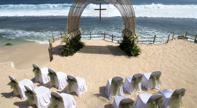 bulgari resort bali beach wedding