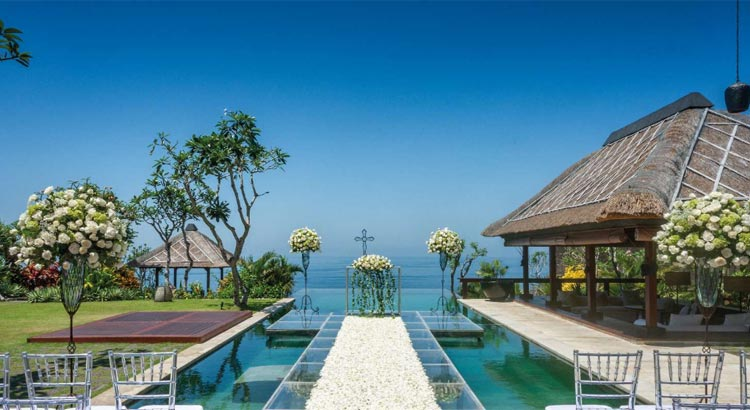 the bulgari bali resort villa wedding