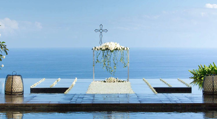 the bulgari water wedding uluwatu bali
