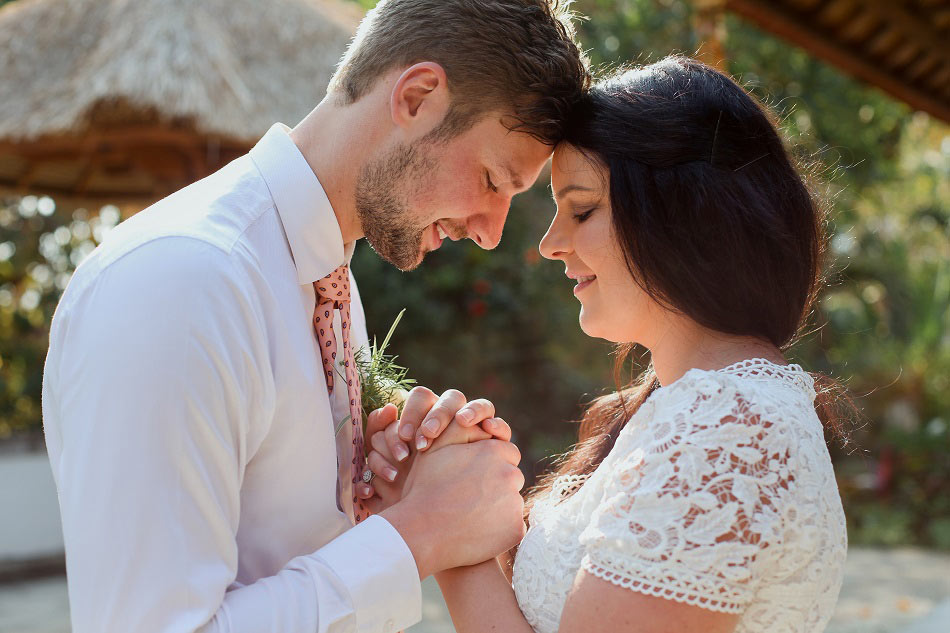 Katherine and Thomas Commitment Bali Wedding
