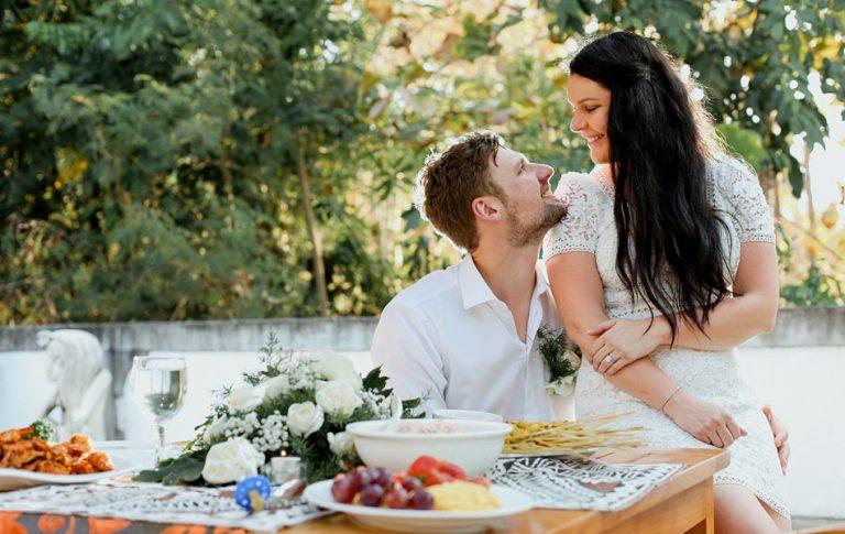 Katherine and Thomas Commitment Bali Wedding