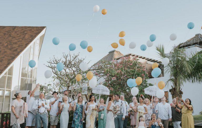 Melanie Charles Conroy bali Wedding - pearl chapel samabe