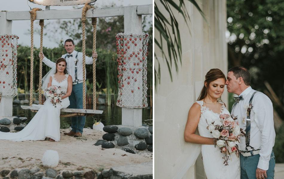 Melanie Charles Conroy Bali Wedding Ceremony