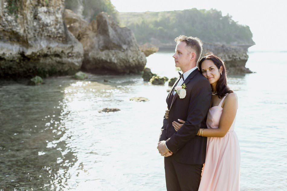 Frank and Liane Renewal Bali Wedding - Beach Wedding
