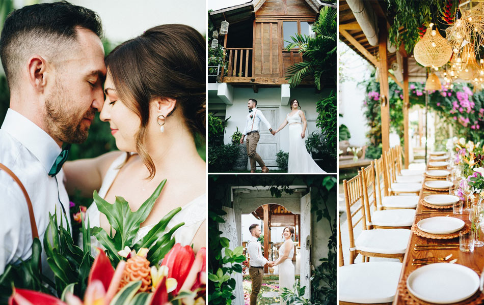 Jenna-Belle and Marten Balinese Blessing Ceremony
