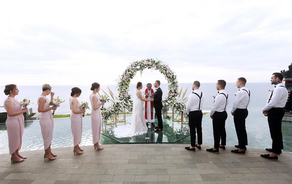 Laura and Nenad Bali Wedding - Kamaya Uluwatu