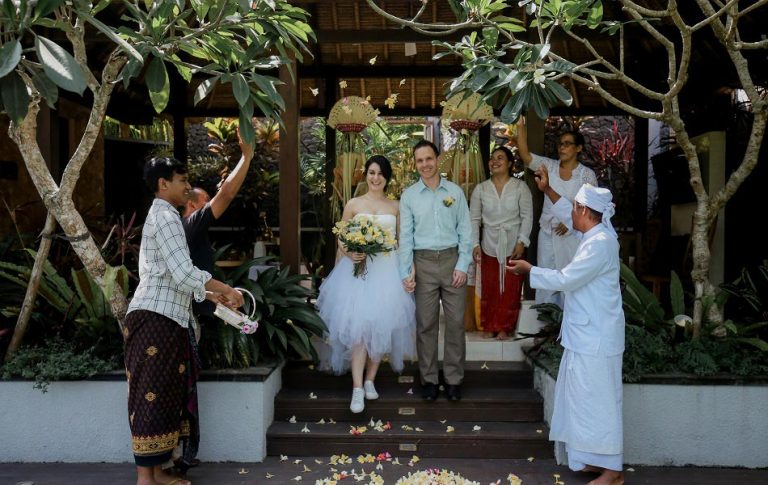 Iva and Vassil Balinese Blessing Ceremony