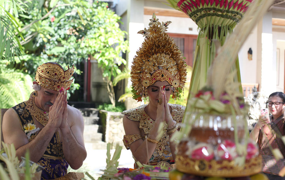 balinese wedding blessing package