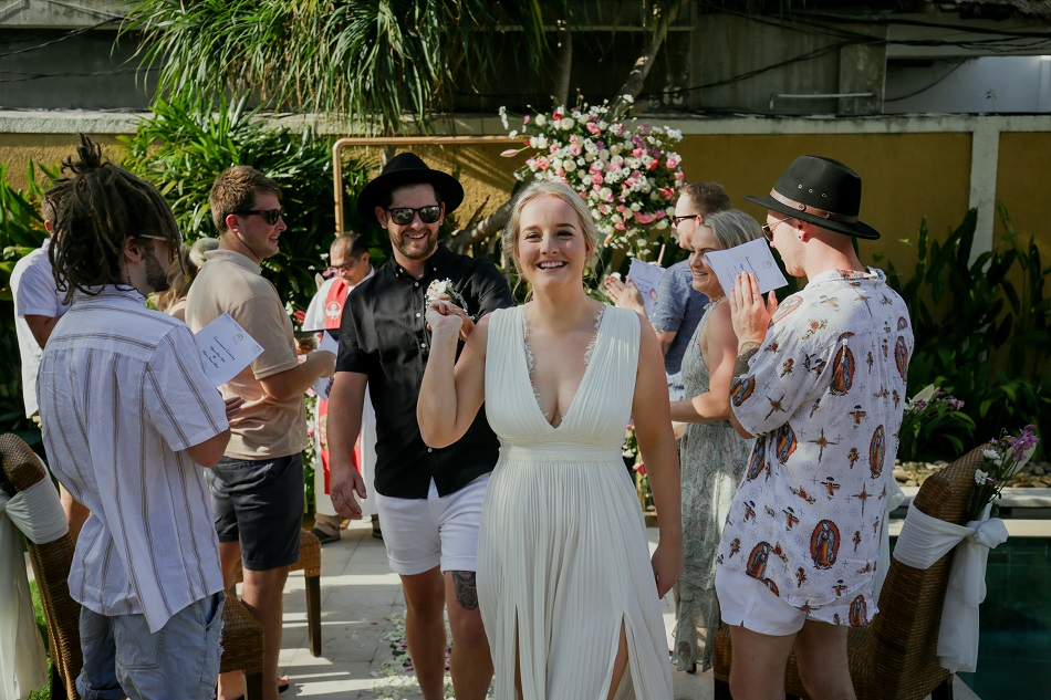 Ellisa and Ryan Bali Wedding