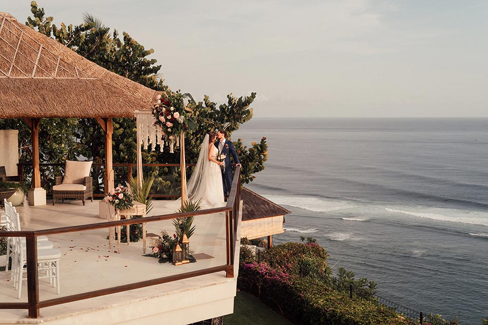 Lizzy and Sean Commitment Bali Wedding