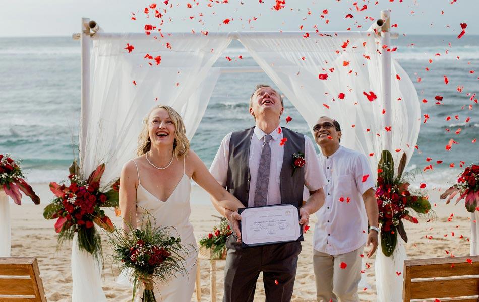 Monika and Stanislaw Bali Wedding Anniversary