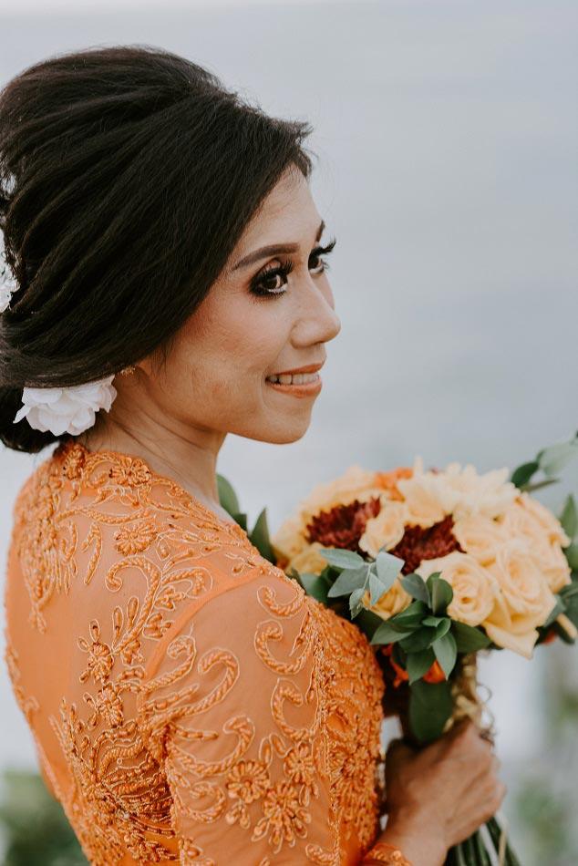 Rina and Chris Bali Legal Wedding Ceremony