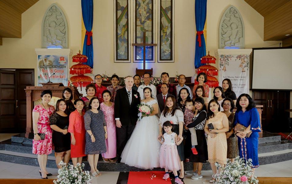 Sri and Craig Legal Bali Wedding - Wedding Chapel in Bali