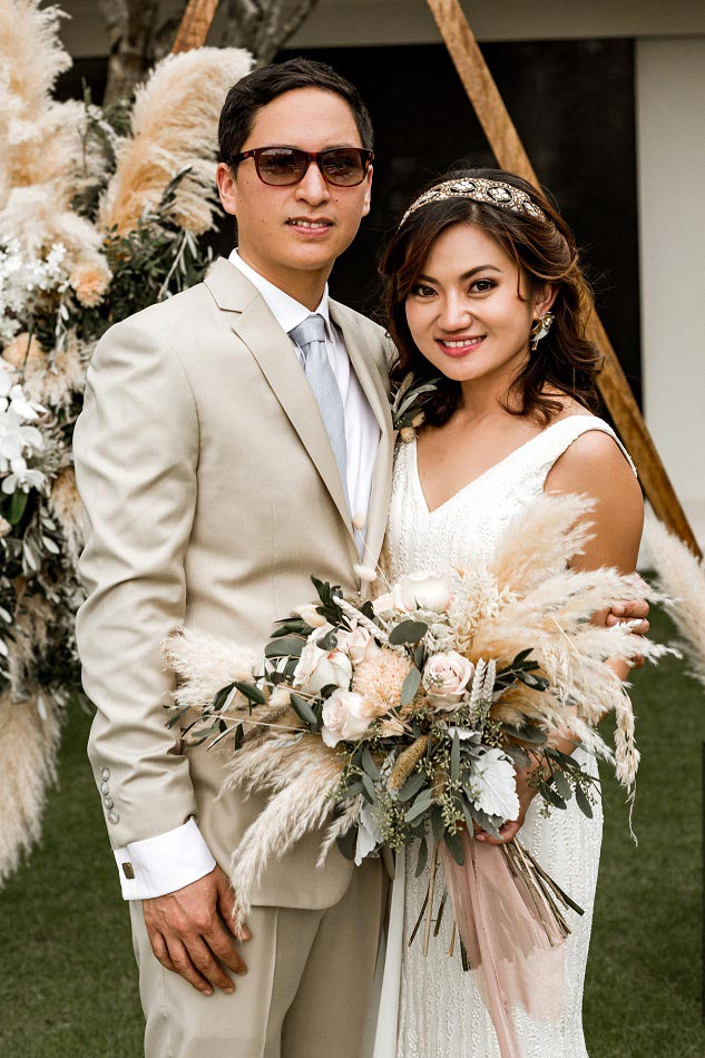 Vivi and Alex Bali Wedding