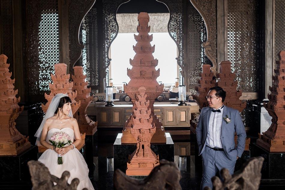 Kylie and Alfred Bali Wedding - Kempinski Hotel Nusa Dua