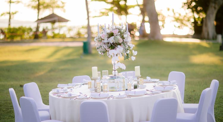 intecontinental bali resort wedding venue