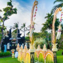 garden wedding at the laguna resort
