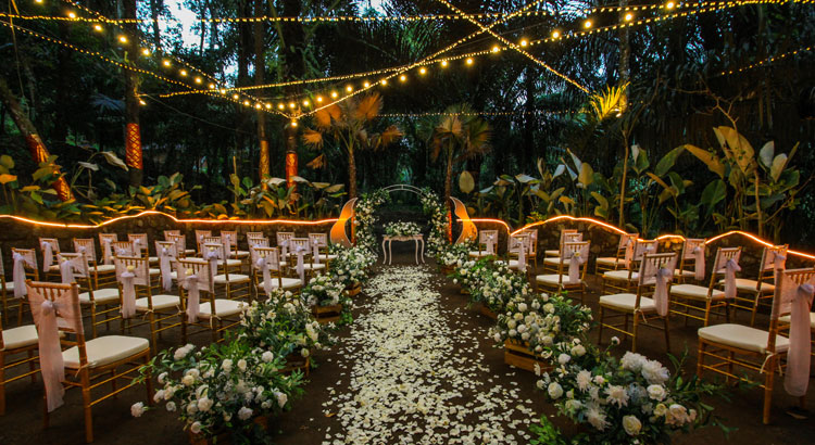 jungle wedding at kupu kupu barong