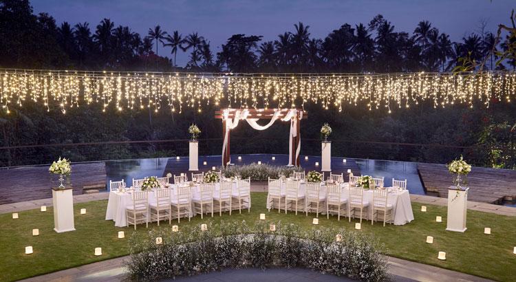 ubud forest theme wedding