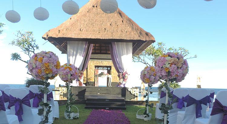 Grand Ocean Villa wedding package