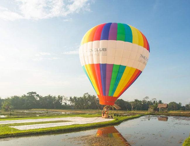 baloon bali wedding proposal
