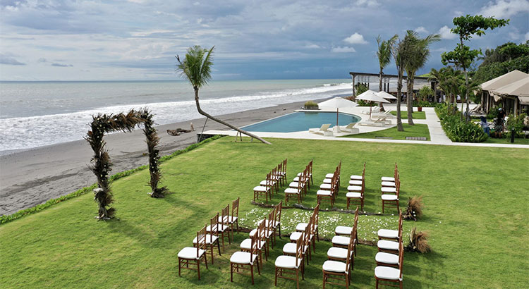 Bali Beach Glamping Wedding